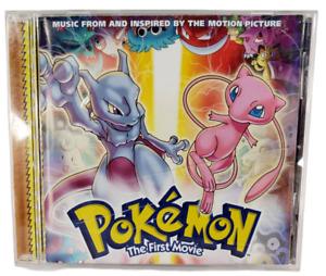 Vintage 1999 POKEMON The First Movie Music CD w/Mini Poster Booklet Nintendo