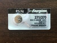 Energizer 371/370 SR920SW Silver Oxide Watch Battery USA SELLER