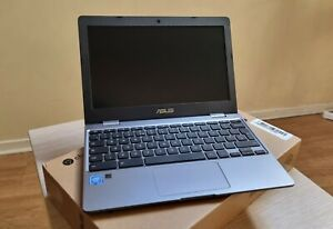 ASUS Chromebook C223NA Gris - Clavier QWERTY - Comme neuf