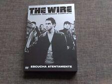 DVD THE WIRE - PRIMERA TEMPORADA COMPLETA - SEALED - NEW - PRECINTADA - RARE