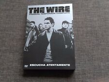 SERIE DVD THE WIRE - TEMPORADA 1 COMPLETA - SEALED - NEW - PRECINTADA