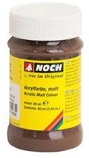 Noch 61193 Peinture acrylique, mat, brun, contenu 90ml (100ml =