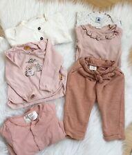 Babybekleidung Mädchen Zara- H&M, Steiff  6 Teile - In Gr.74