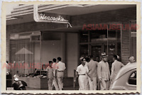 50s PHILIPPINES MANILA TRUCK STREET SCENE DEPARTMENT STORE Vintage Photo 18927