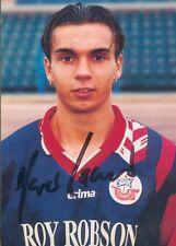 FC Hansa Rostock Autogrammkarte Marco Laaser, orig. signiert