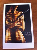 James Bond Postcard - 50th Anniversary - NEW