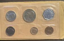 Uncirculated United States US Mint Coin Set - 1962