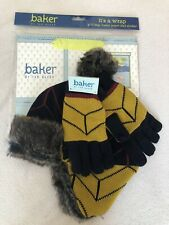 Ted Baker Boys Hat And Gloves Set Age 3-6 Years New With Gift Bag Birthday Gift