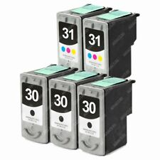 5-PACK PG30/CL31 Ink Cartridge for Canon PIXMA iP1800 iP2600 MP140 MP190 Printer