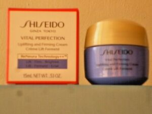SHISEIDO VITAL PERFECTION UPLIFTING and FIRMING CREAM 15 mL RRP £30 BNIB RENEURA