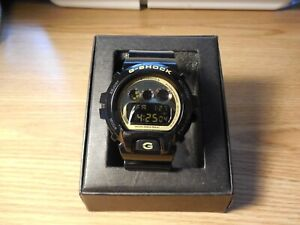 Casio G-Shock DW-6900CB Stainless Steel Black Digital Watch  Japan