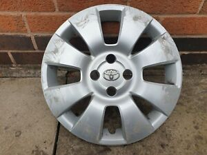 "Single Toyota Yaris 15"" Wheel Trim Hub Cap x1 Genuine Used Part"