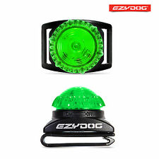 EzyDog Adventure Light Flashing Dog Safety LED Light - GREEN