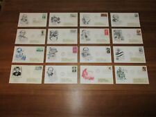 VS / USA - 16 FDC's - Met adres / With address (1963-1966)