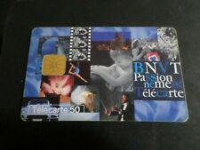 TELECARTE 50 FRANCE PASSIONEMENT BNVT USAGEE, PHONE CARD
