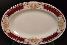 Homer Laughlin Brittany B1315 Pickle Dish Small Serving Platter 9""