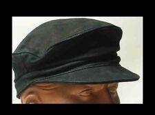 CAP Kappe 1A Sattlerqualität LEDER Lederkappe NEU viele Farben BIKERKAPPE Top #
