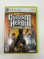 Guitar Hero III: Legends of Rock 3 (Microsoft Xbox 360, 2007) No Manual Tested!