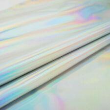 laser argent cuir synthétique tissu brillant BAGAGES décore TEXTILE matériaux