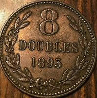 1893 GUERNESEY 8 DOUBLES