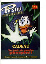 Publicité Picsou magazine – Les dents de vampire des années 1990