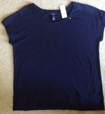 New Gap Navy Blouse - Size S -  Retail $29.99