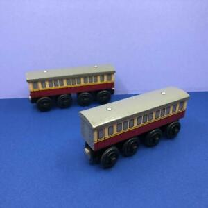 Thomas The Tank Engine & Friends Learning Curve Express Coaches Wooden Toy Train