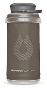 Hydrapak- Stash 1 L Flexible Bottle 1 L/32 Fl Oz G121 Mammoth Green