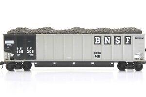 HO E&C Shops BNSF Johnstown Coal Porter Assembled +Kadee + Load No Steps #208