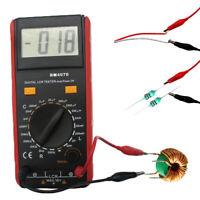 US BM4070 LCR Meter Self-Discharge Resistance Capacitance Inductance Tester+Clip