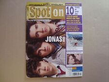 JONAS BROTHERS rare SPOTON cover magazine Joe Nick Kevin Robert Pattinson Poster