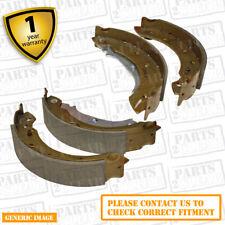 Rover Group 200 1.6i 16V 216 i 120 Rear Brake Shoes Set For Brake Drums 203mm
