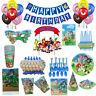 Sonic The Hedgehog Kids Birthday Party Supplies Tableware Balloon Decoration UK