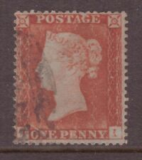 1854 1d Penny Red Small Crown Perf 16 SG 17/18 C1 fine used, unplated TI