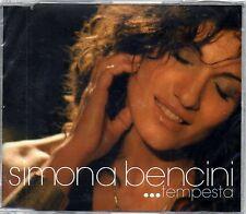 SIMONA BENCINI - TEMPESTA - CD SINGOLO NEW NUOVO SIGILLATO