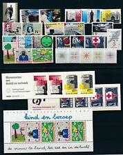 Netherlands Niederlande 1987 Year Set Complete incl. Miniature Sheet MNH
