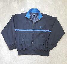 Black and Blue Men's Nautica Jacket Pinstripe Lining Size XXL