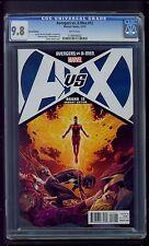 Avengers VS X-Men #12 (2012) CGC Graded 9.8 ~ Jerome Opena Variant Edition