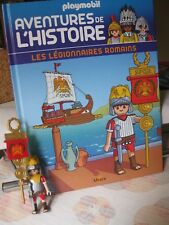 Livre Playmobil Aventure de l'histoire N° 8 Les Légionnaires Romains Altaya