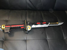 Bandai 2011 Power Rangers Samurai Deluxe Mega Blade Folding Sword Tested & Works