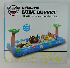 """Luau Inflatable Buffet Salad Bar Ice Chest Beer Food Cooler Party 54"""" Long"""
