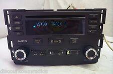 05 06 Chevrolet Cobalt Pursuit Radio Cd MP3 Player 15851730 CE95028