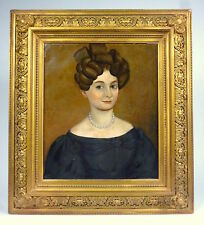 Painting in frame for 1845 portrait picture