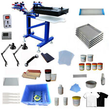 Enhanced Screen Printing with Materials Kit Package:3 Color Screen Printing Kit