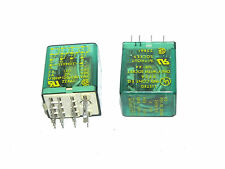 LOT OF 2 SQUARE D 8501RS4 RELAYS 8501-RS4, 120V, 50/60HZ