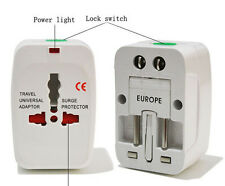 HOT International Universal Travel Power Plug AC Adapter Converter UK US EU AU