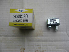 Cole Hersee 30404-30 Circuit Breaker, Type I, 12V, 30 amp, Nos