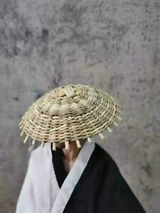 1/6 Straw bamboo hat for 12'' Japanese samurai kamishimo Ronin Figure Body Doll