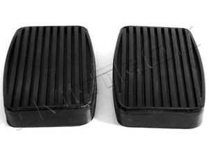 Hudson Clutch and Brake Pedal Pads Fits: 1948-1954 Commodore, Super 8 and more