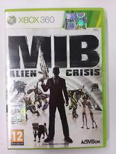 MIB Men in Black Alien Crisis  XBOX 360  PAL  Manuale in Italiano